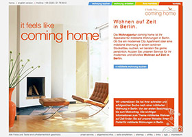 coming-home.org (2009) screenshot